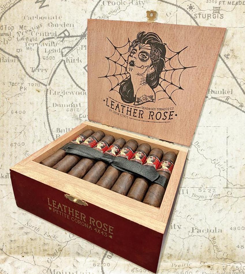 Cigar News: Drew Estate to Add Deadwood Tobacco Leather Rose Petite Corona