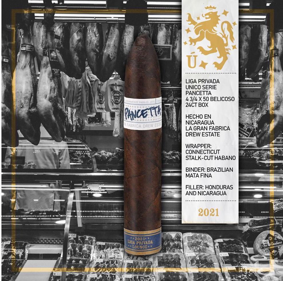 Cigar News: Drew Estate to Release Liga Privada Pancetta 2021 Edition