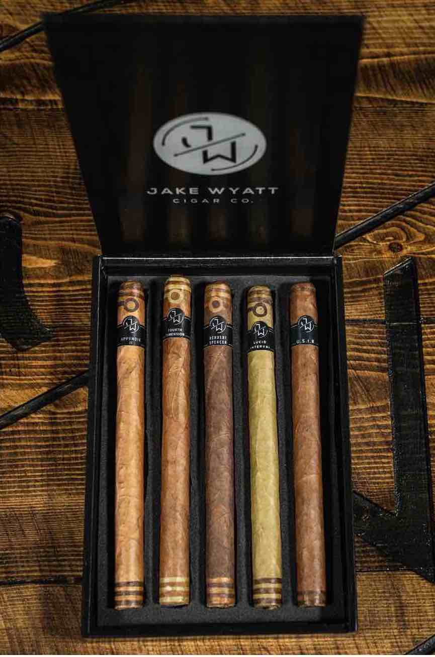 Cigar News: Jake Wyatt Limited Lancero Sampler Launched at 2021 PCA Trade Show