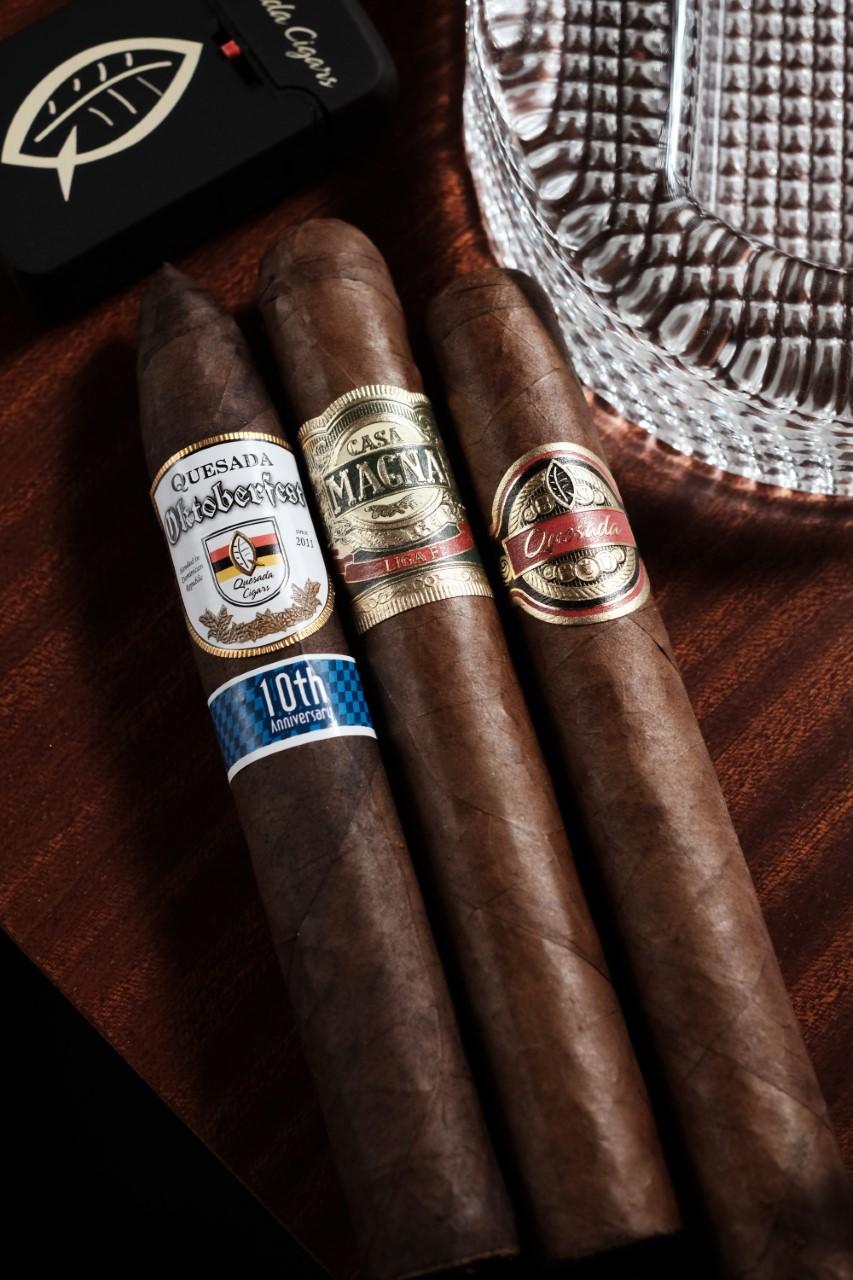 Cigar News: Quesada Cigars Ships Casa Magna Liga F, Oktoberfest 10th Anniversary, and 1974 Toro