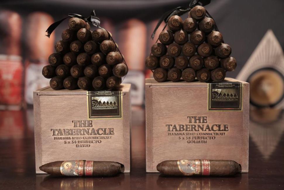 Cigar News: Foundation Cigar Company Adds David & Goliath to Tabernacle Havana Seed CT-142 Line