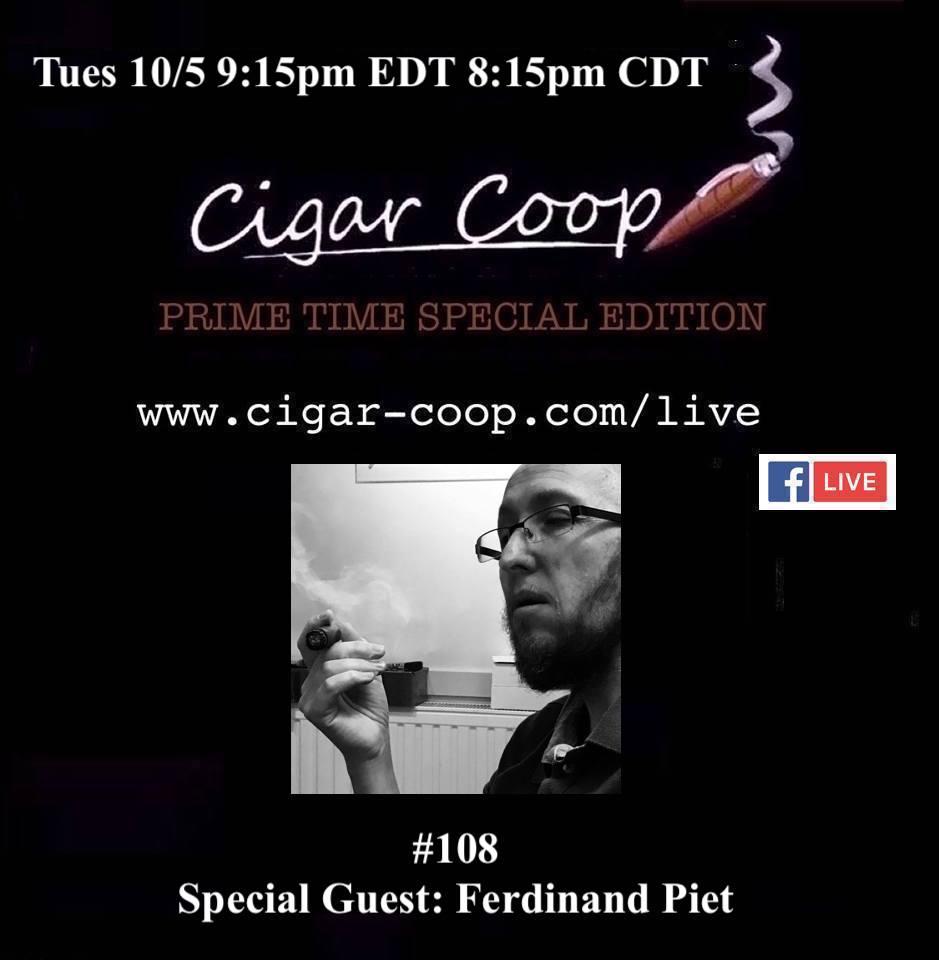 Announcement: Prime Time Special Edition 108 – Ferdinand Piet