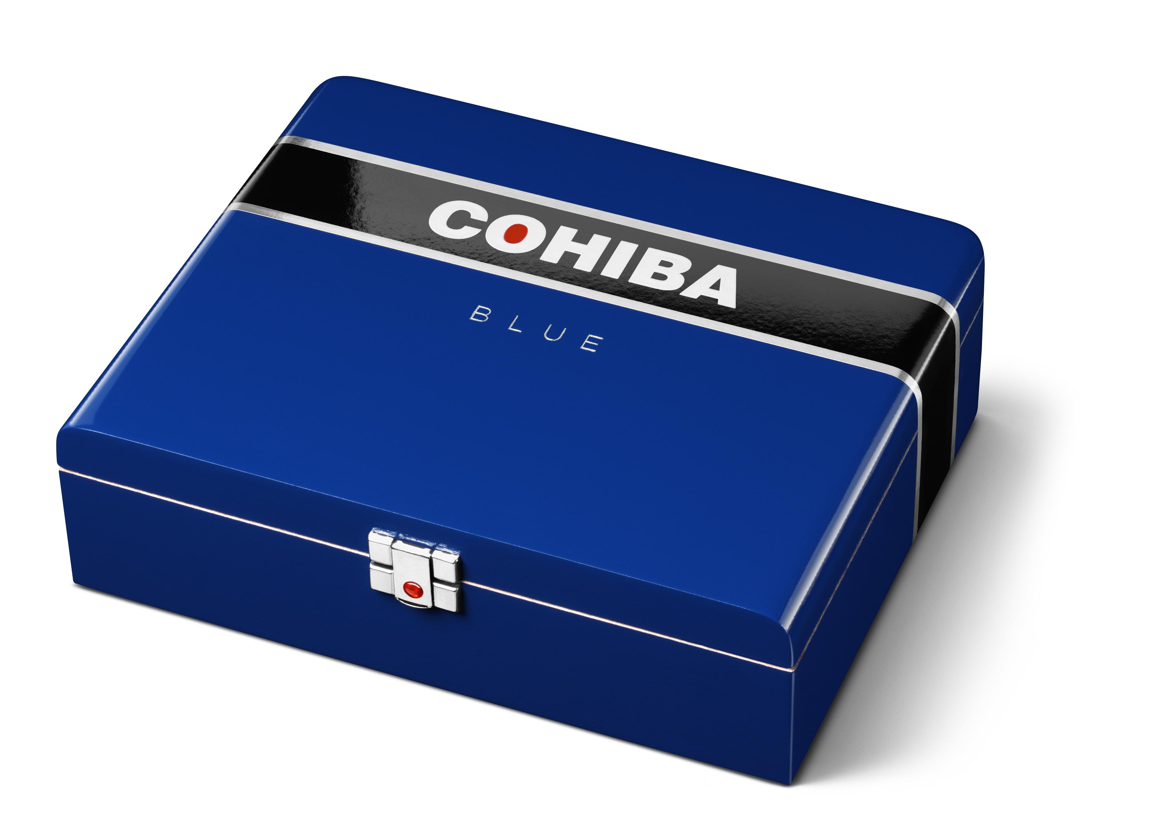 Cigar News: General Cigar Adds Cohiba Blue 7 x 70