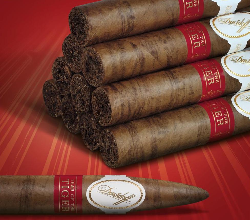 Cigar News: Davidoff Year of the Tiger Announced