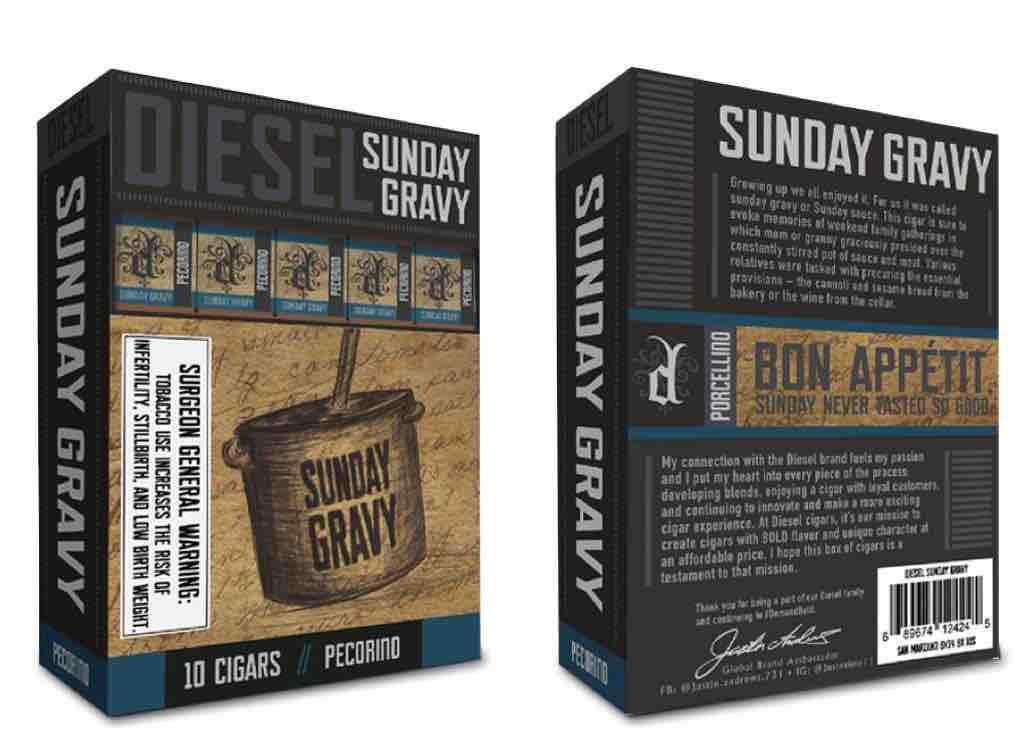 Cigar News: Diesel Sunday Gravy Pecorino Released