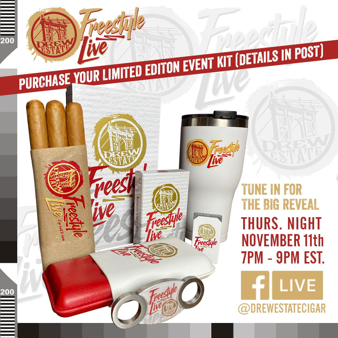 Cigar News: Drew Estate Announces Second Freestyle Live Kit