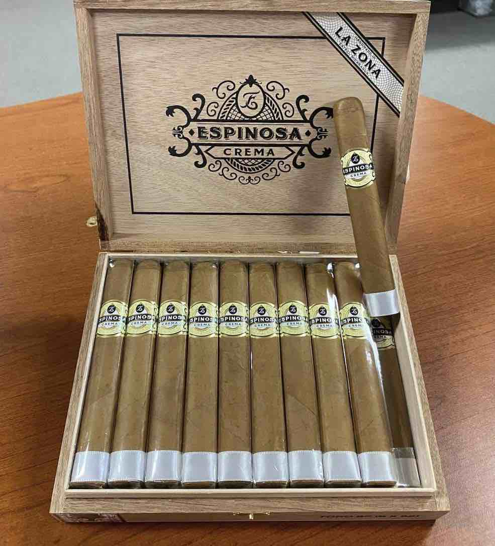 Cigar News: Espinosa Cigars Adds Crema Box Pressed Toro