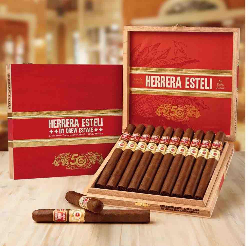 Cigar News: Herrera Estelí by Drew Estate JR 50th Announced as latest JR 50th Installment