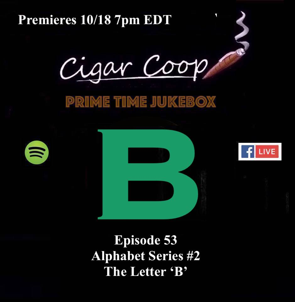 """Announcement: Prime Time Jukebox Episode 53: The Alphabet Series – The Letter """"B"""""""