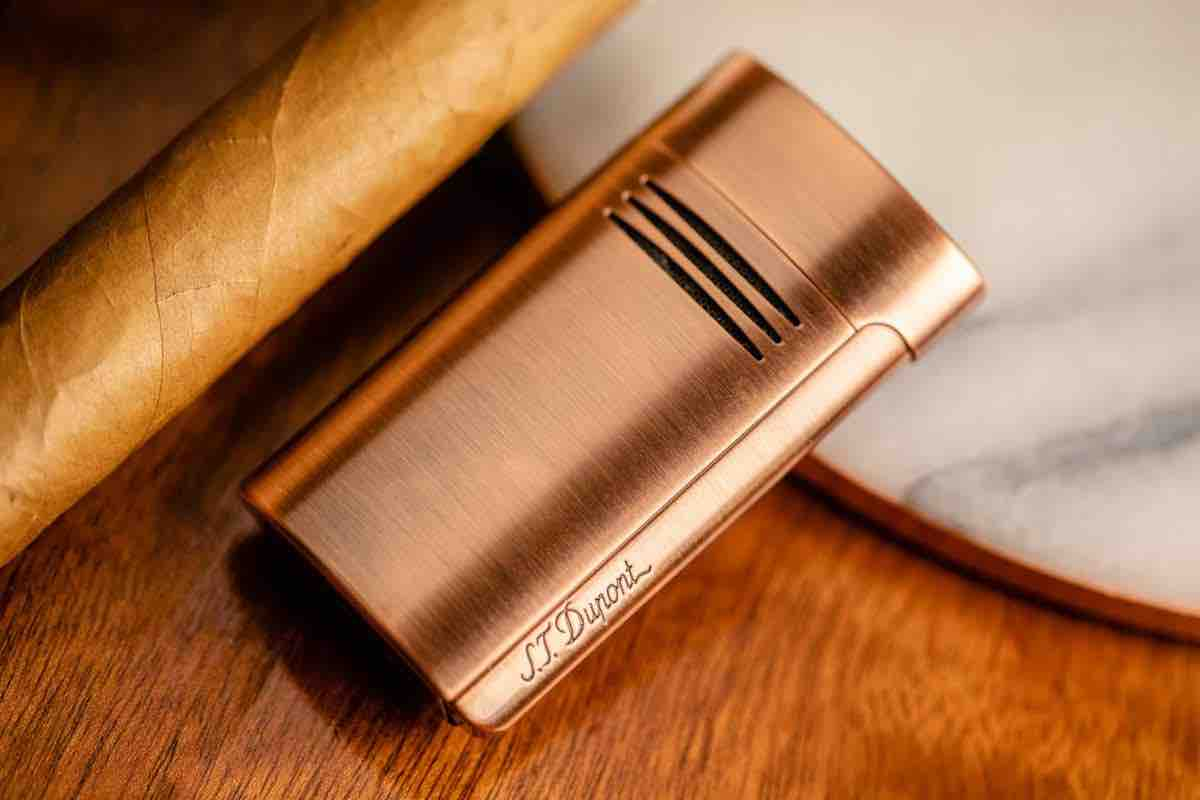 Cigar News: S.T. Dupont Introduces Brushed Copper Collection