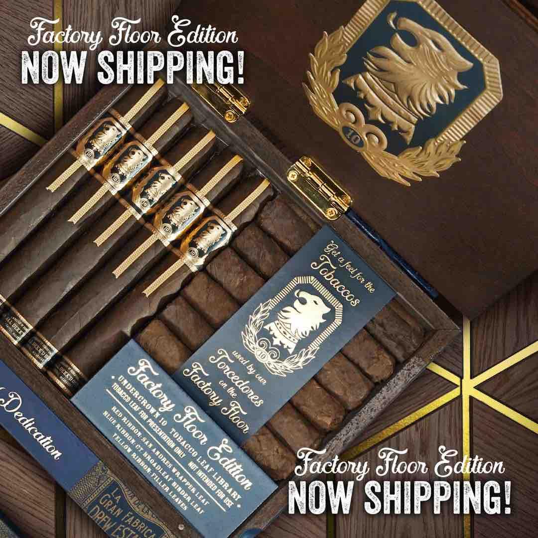 Cigar News: Drew Estate Ships Undercrown 10 Factory Floor Edition